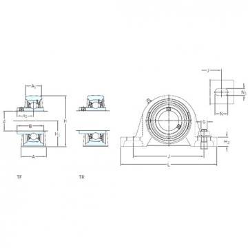 SKF SY 1.15/16 WF bearing units