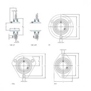 SKF PFD 1.1/4 TF bearing units