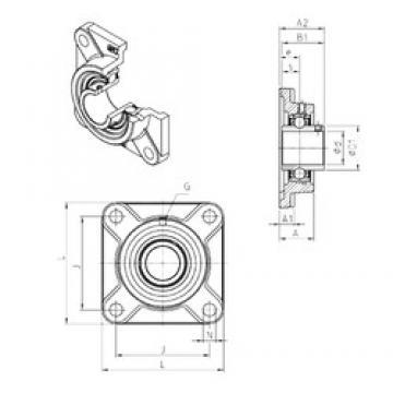 SNR UCF317 bearing units