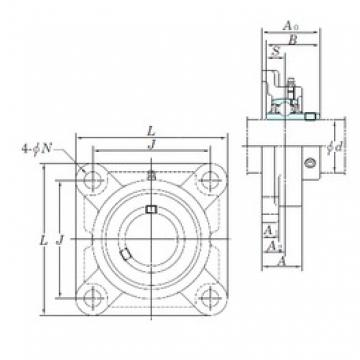 KOYO UCFX12-39E bearing units