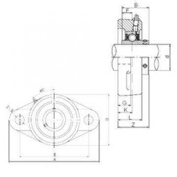 80 mm x 180 mm x 82,6 mm  ISO UCFL216 bearing units