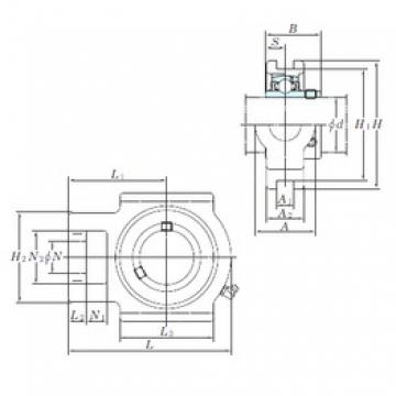 KOYO UCT205 bearing units