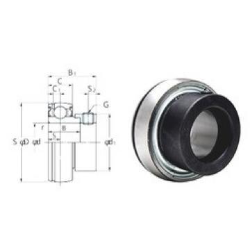 25 mm x 52 mm x 21,5 mm  KOYO SA205F deep groove ball bearings