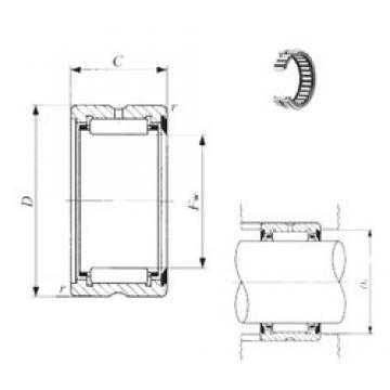 IKO BR 364828 U needle roller bearings