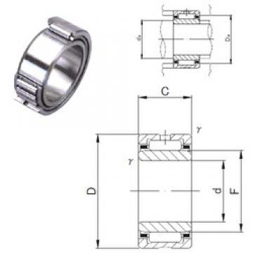 50 mm x 68 mm x 35 mm  JNS NKI 50/35 needle roller bearings