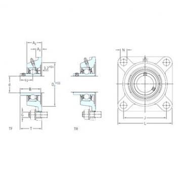 SKF FYM 1.15/16 TF bearing units