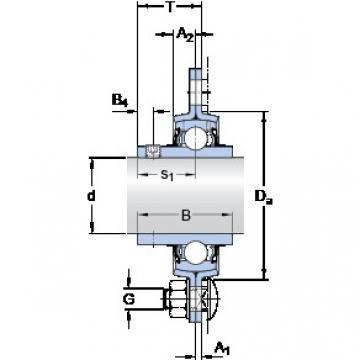 SKF PFD 3/4 TF bearing units