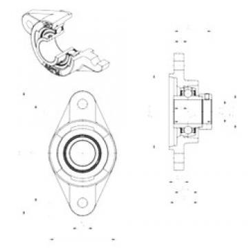 SNR EXFLZ208 bearing units