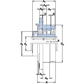 SKF FYRP 2 15/16-18 bearing units