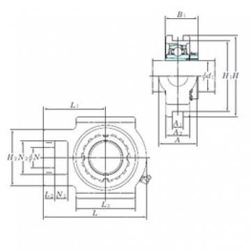 KOYO UKT205 bearing units
