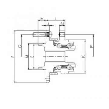 ILJIN IJ113032 angular contact ball bearings