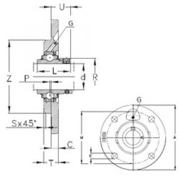 NKE RMEY20-N bearing units