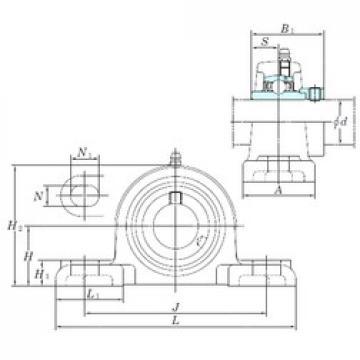 KOYO NAPK204-12 bearing units