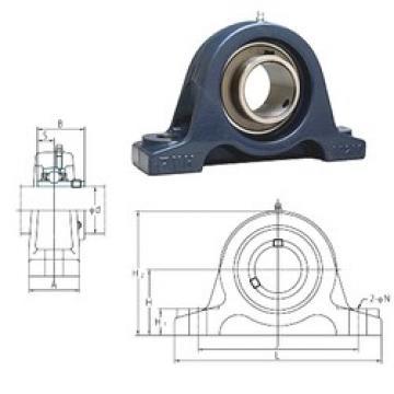 FYH UCIP319 bearing units