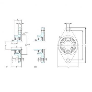 SKF FYT 1. RM bearing units