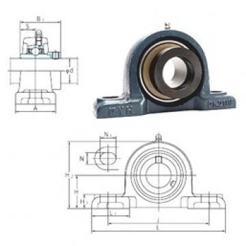 FYH NAPK211-32 bearing units
