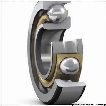 38 mm x 87,4 mm x 54,8 mm  NSK 38BWK01J angular contact ball bearings
