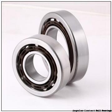 80 mm x 125 mm x 22 mm  SKF S7016 ACD/P4A angular contact ball bearings