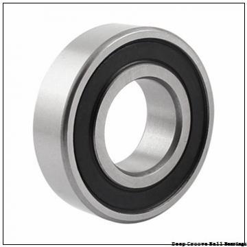 6 mm x 13 mm x 5 mm  SKF W 628/6 R-2Z deep groove ball bearings