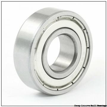 3 mm x 8 mm x 4 mm  ZEN F693-2Z deep groove ball bearings