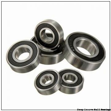 35 mm x 72 mm x 17 mm  ISO 6207 ZZ deep groove ball bearings