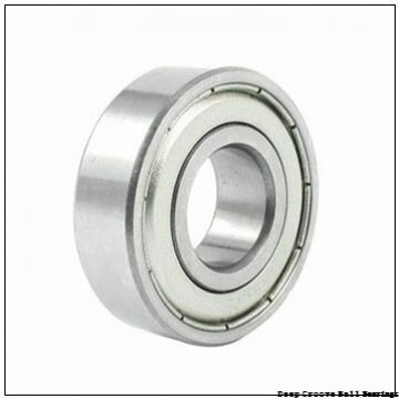 6 mm x 15 mm x 5 mm  ISO F696-2RS deep groove ball bearings