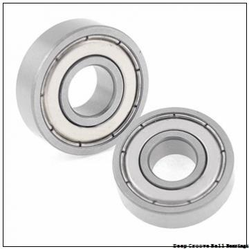 1,5 mm x 6 mm x 3 mm  FBJ 601XZZ deep groove ball bearings