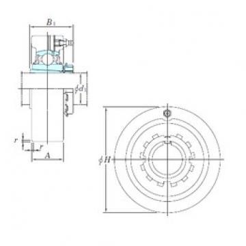 KOYO UKCX08 bearing units