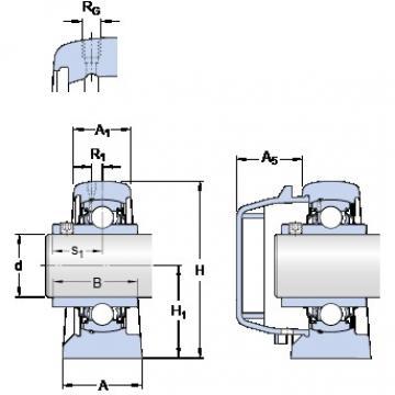 SKF SYFWR 1.3/8 YZTHR bearing units