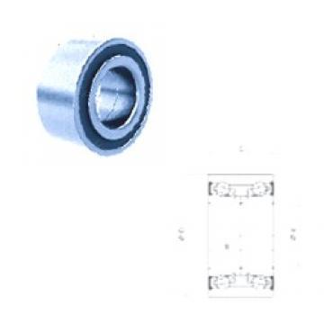 39 mm x 74 mm x 36 mm  PFI PW39740036/34CS angular contact ball bearings