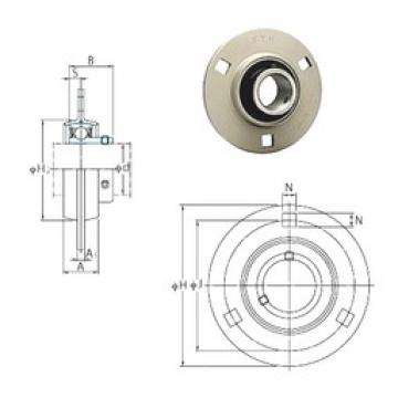 FYH SBPF206-20 bearing units