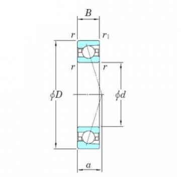 50 mm x 80 mm x 16 mm  KOYO 3NCHAC010CA angular contact ball bearings