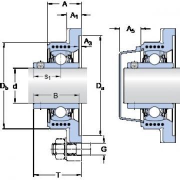 SKF FYK 40 TR bearing units