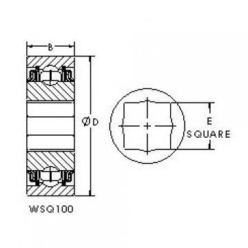 AST GWSQ110-102 deep groove ball bearings