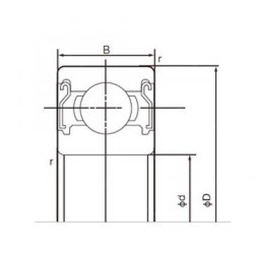 45 mm x 58 mm x 7 mm  NACHI 6809ZZE deep groove ball bearings