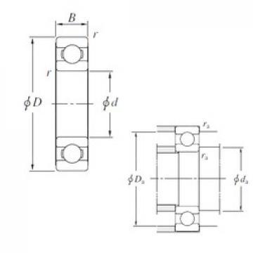 900 mm x 1180 mm x 122 mm  KOYO 69/900 deep groove ball bearings