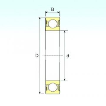 60 mm x 130 mm x 31 mm  ISB 6312-2RS deep groove ball bearings
