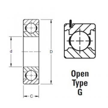60 mm x 130 mm x 31 mm  Timken 312KG deep groove ball bearings
