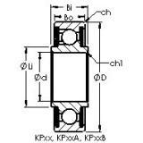 AST KP29B deep groove ball bearings